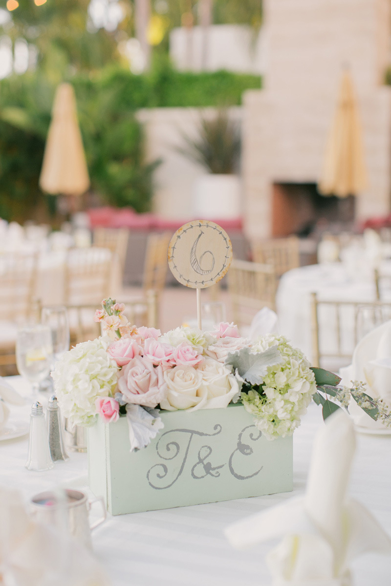 Lifetime Weddings & Events -  woodbox arrangement